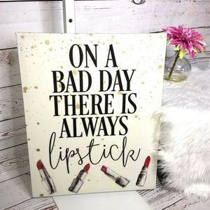 "bebe ""On A Bad Day there is always lipstick"" photo"